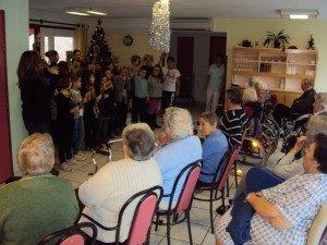 Chorale de l'école Saint Laurent décembre 14 002